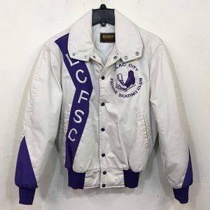 Vintage Purple Lilac City Figure Skating Jacket